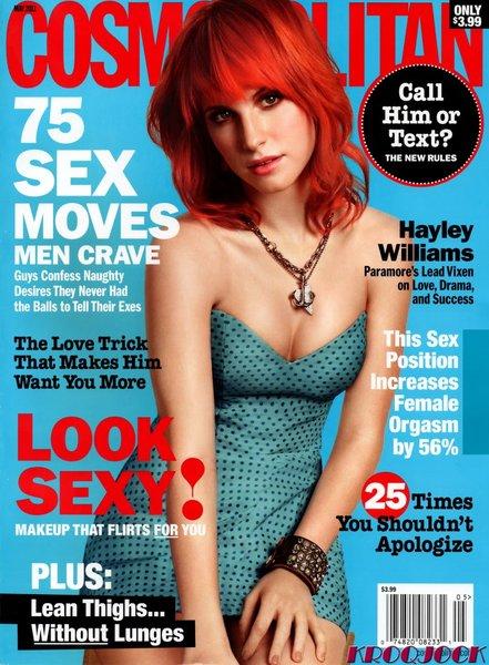 hayley williams 2011 cosmopolitan. pictures hayley williams cosmo