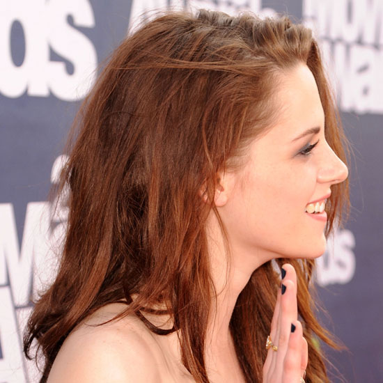 kristen stewart mtv movie awards 2011 hair. the 2011 MTV Movie Awards,