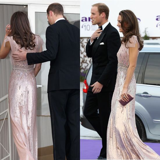 prince william and kate middleton. Prince William and Kate Middleton Pictures at Ark Dinner Previous Next