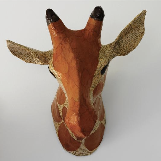 Giraffe Animal Head For Nursery
