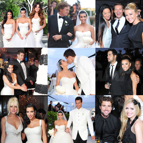 Kim Kardashian Wedding Pictures With Kris Humphries